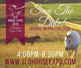 FORMS & FAQS - SLO HORSE EXPO MARCH 12th, 2019